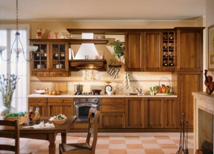 Cucina classica lucrezia arredo 3 vendita di cucine a roma - Arredo cucina classica ...