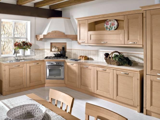 Cucina classica gioiosa arredo3 vendita di cucine a roma - Cucina classica contemporanea ...