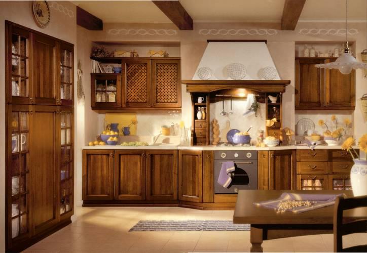 Cucina classica lucrezia arredo 3 vendita di cucine a roma - Arredamento cucina classica ...