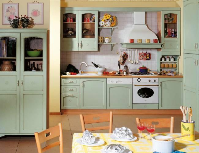 Pics Photos - Cucina Country In Verde