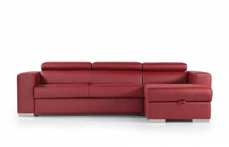 Divano trasformabile sidney con penisola vendita di - Vendita divani letto roma ...