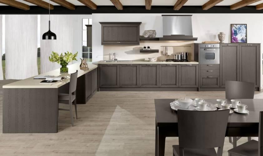 Cucina classica opera arredo3 vendita di cucine a roma for Nuova casa classica