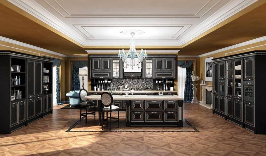 Cucina classica viktoria arredo3 vendita di cucine a roma for Stile casa classica