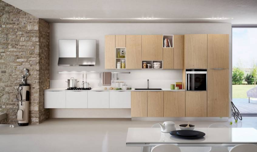cucina moderna new asia arredo3 vendita di cucine a roma. Black Bedroom Furniture Sets. Home Design Ideas