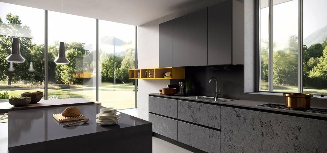 Cucina moderna glass arredo3 vendita di cucine a roma for Casa di vetro moderna in vendita