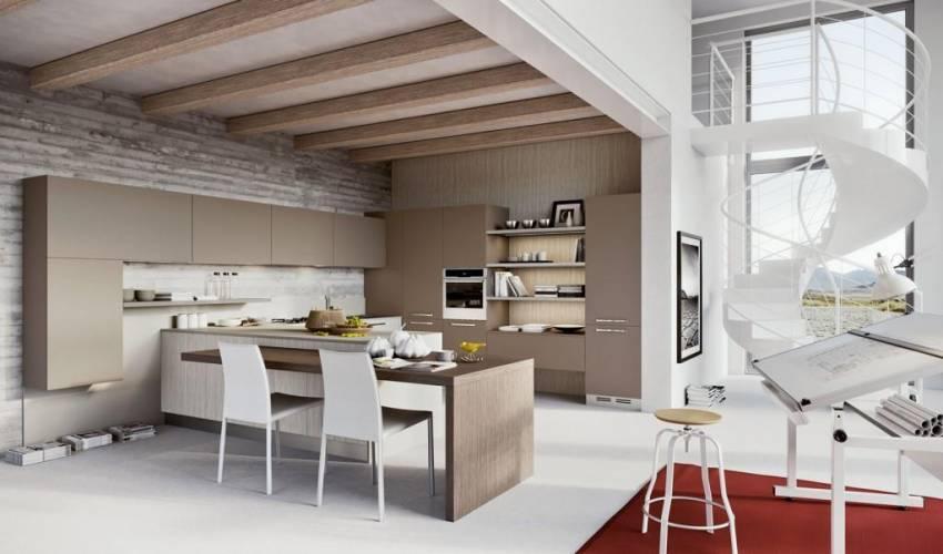 """Cucina moderna """"new luna""""arredo3 vendita di cucine a roma"""