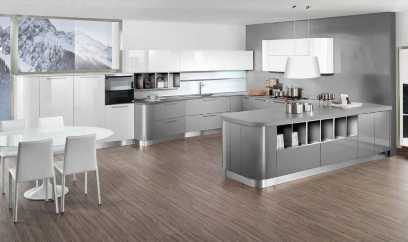 """Cucina moderna """"new time"""" vendita di cucine a roma"""