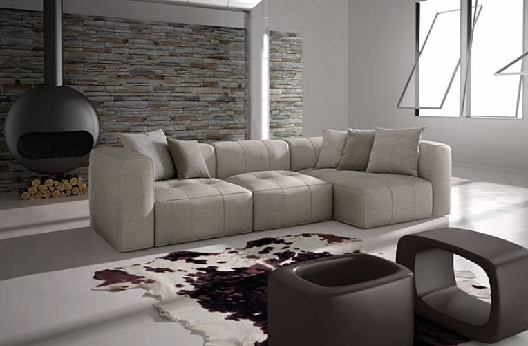 Divano moderno sense lux vendita di divani a roma for Lops arredamenti opinioni