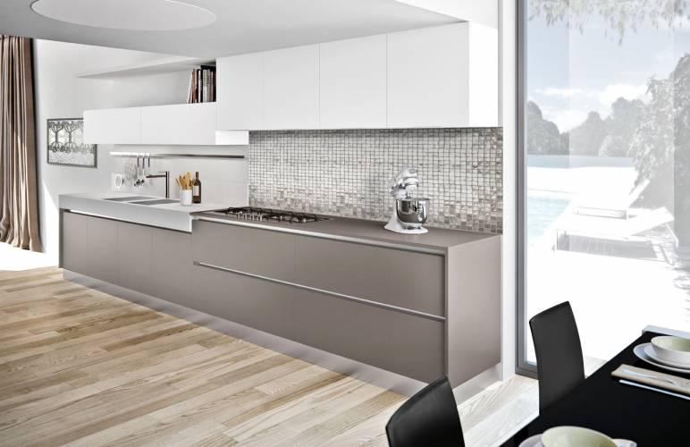 Cucina moderna plana arredo3 vendita di cucine a roma - Cucine con vetrate ...