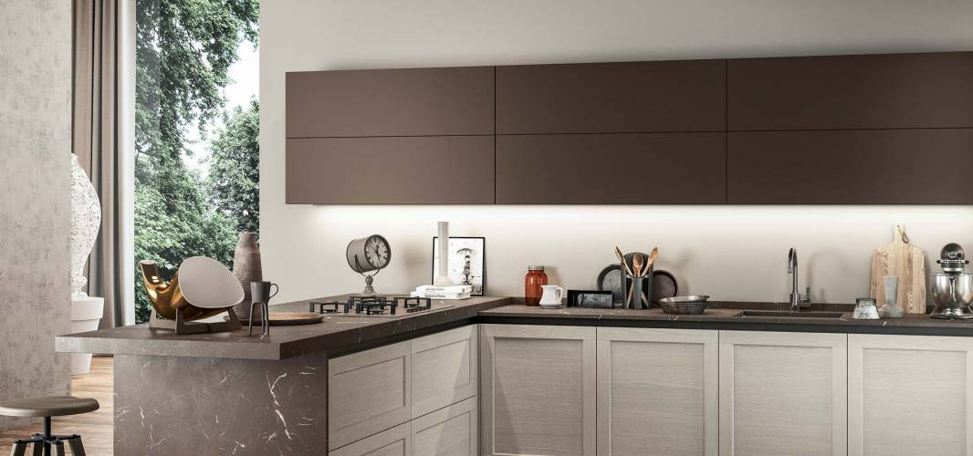 """Cucina """"Frame"""" Arredo3 vendita di Cucine a Roma"""