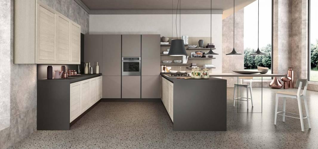 Cucina frame arredo3 vendita di cucine a roma for Arredo cucina moderna