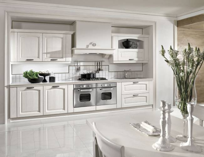 Stunning Cucine Classiche Bianche Photos - Ideas & Design 2017 ...