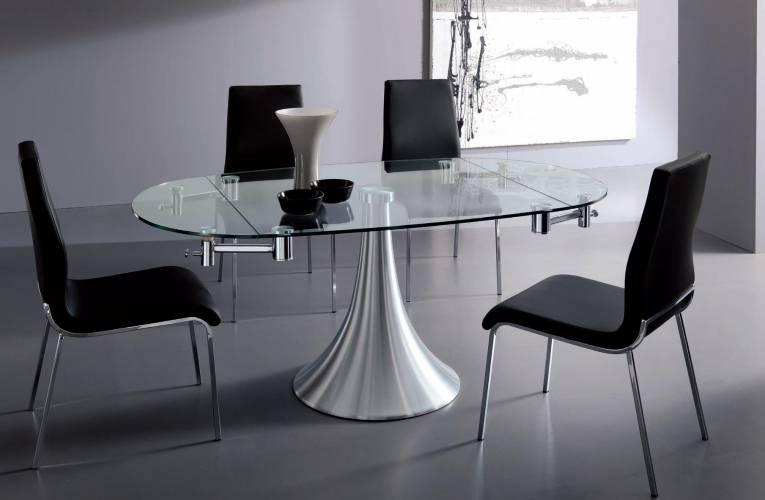 Tavolo flute vendita di tavoli a roma for Tavoli di design in cristallo