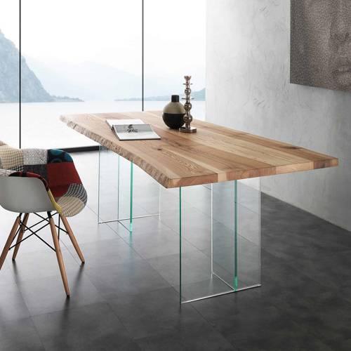 Tavolo bio glass 704 vendita di tavoli a roma for Tavoli rettangolari di design