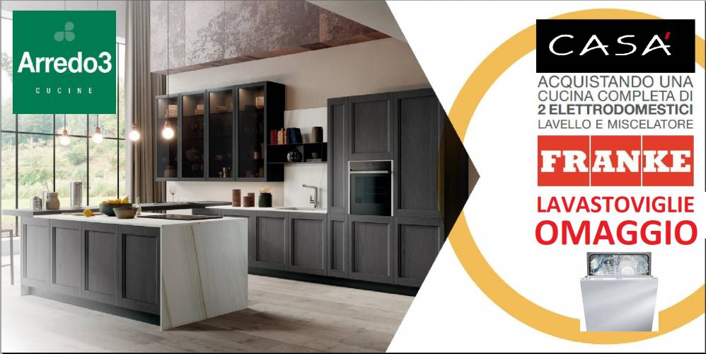 Promozioni Arredamento Roma.Scegli Le Cucine Arredo3 Con Elettrodomestici Franke La