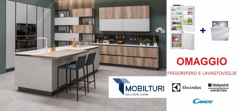 Acquista la tua nuova cucina Mobilturi...per te FRIGORIFERO E ...